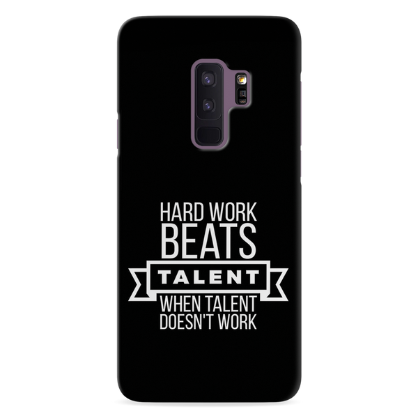 Hard Worker Cover Case For Samsung Galaxy S9 Plus