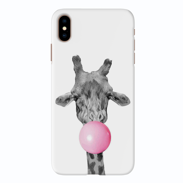 Bubble Giraffe  Cover Case For iPhone XS Max