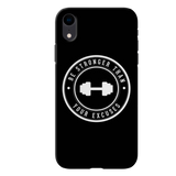 Be Strong Cover Case For iPhone XR