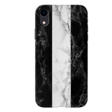 B&W Marble Stripes Cover Case For iPhone XR