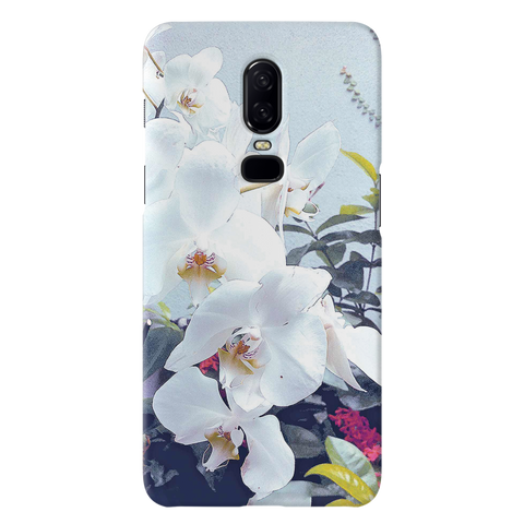 Florals and Sky Case Cover for OnePlus 6