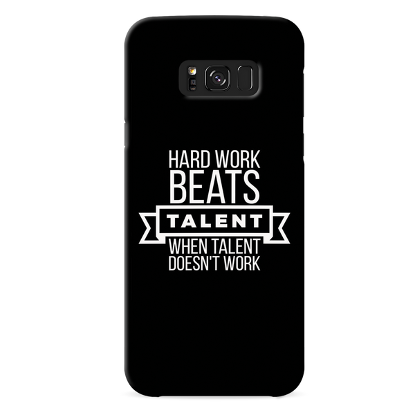 Hard Worker Cover Case For Samsung Galaxy S8