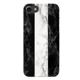 B&W Marble Stripes Cover Case For iPhone 7/8