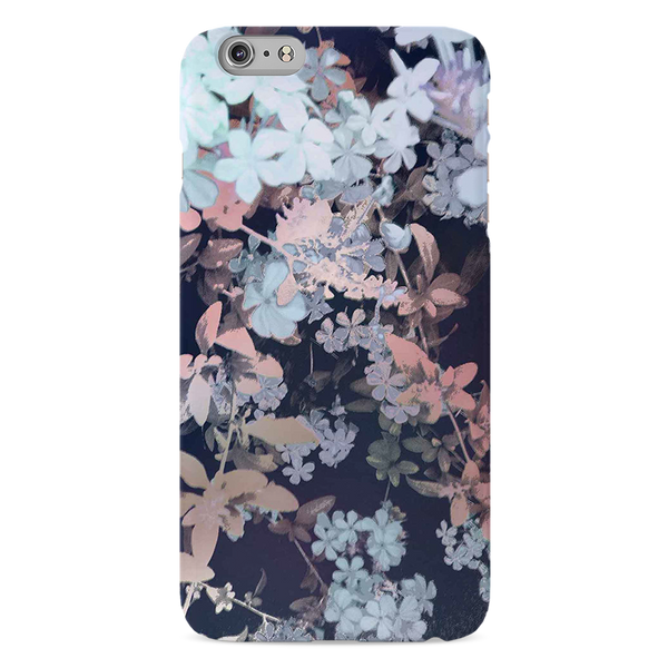 Night Flowers Case Cover for iPhone 6/6S Plus