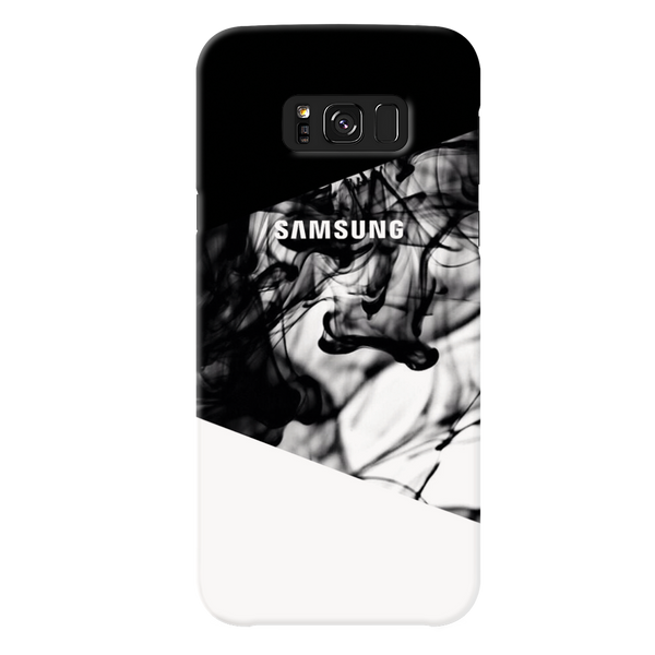 White Splash Cover Case For Samsung Galaxy S8 Plus
