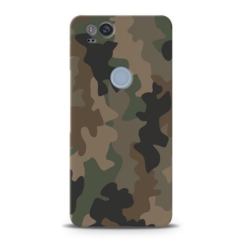 Army Abstract Camouflage Cover Case For Google Pixel 2