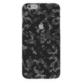 Black Patterned Camouflage Cover Case For iPhone 7/8