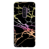 Dramatic black Marble Cover Case For Samsung Galaxy S9 Plus