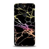 Dramatic black Marble Cover Case For OnePlus 5T