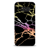 Dramatic black Marble Cover Case For Samsung Galaxy S8