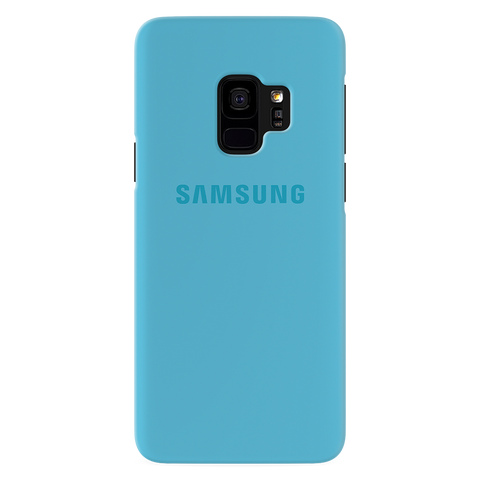 Sky Blue Cover Case For Samsung Galaxy S9