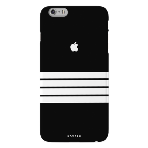 White Stripes Case Back Cover For iPhone 6/6S Plus