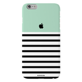 Stripes on Green Cover Case for iPhone 6/6S Plus