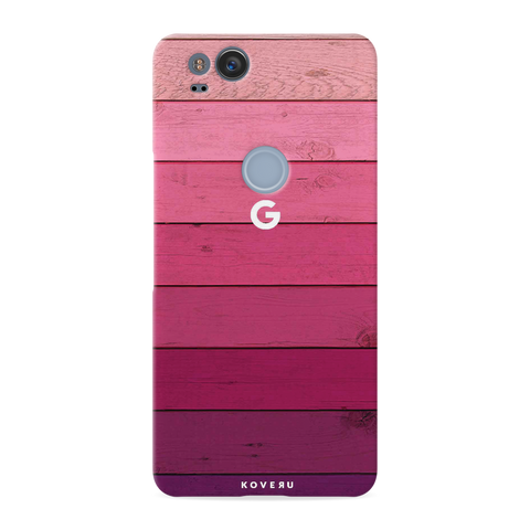 Shades of Pink Love Cover Case For Google Pixel 2