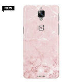 Baby Pink Marble Cover Case For  OnePlus 3/3T