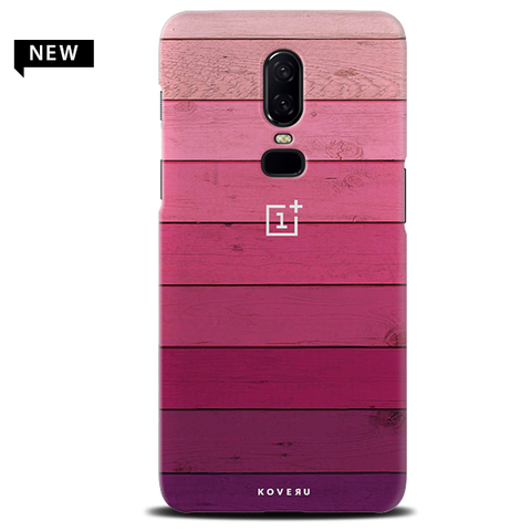 Shades of Pink Love Cover Case For OnePlus 6