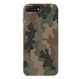 Army Abstract Camouflage Cover Case For iPhone 7/8 Plus