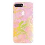 Lovely Pink Marble Cover Case For iPhone 7/8 Plus