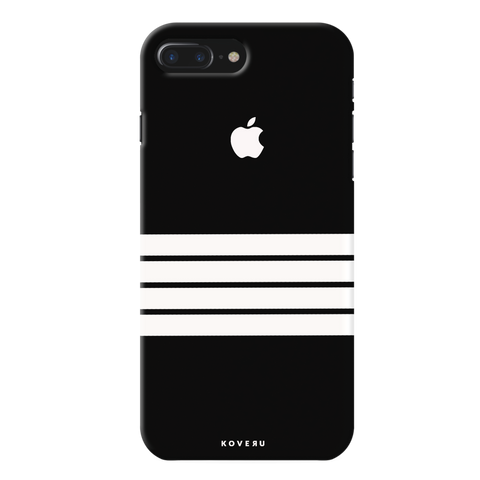 White Stripes Case Back Cover For iPhone 7/8 Plus