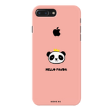 Say Hello to Panda Cover Case For iPhone 7/8 Plus