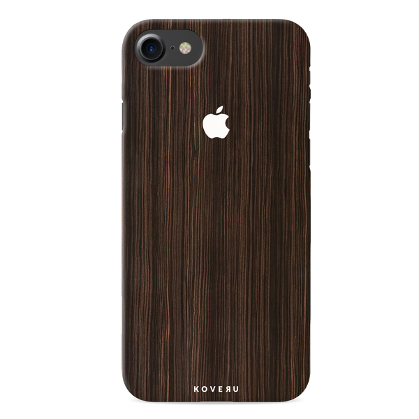 Wooden Texture Back Cover Case For iPhone 7/8