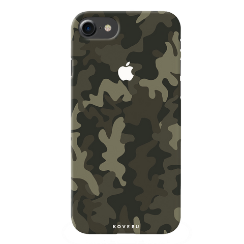 Brown Abstract Camouflage  Cover Case For iPhone 7/8