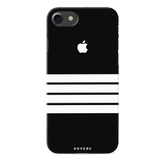 White Stripes Case Back Cover For iPhone 7/8