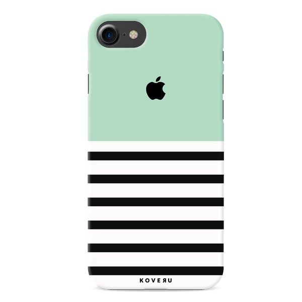 Stripes on Green Cover Case for iPhone 7/8