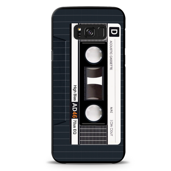 Acoustic Cassette Cover Case For Samsung Galaxy S8