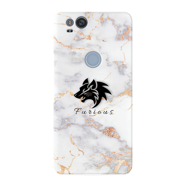 Furious Wolf Marble Cover Case For Google Pixel 2