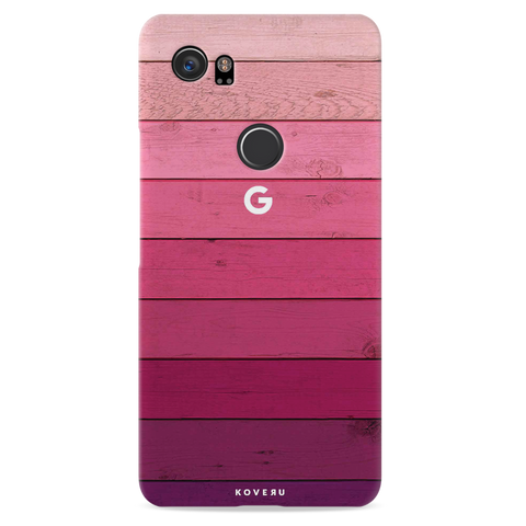 Shades of Pink Love Cover Case For Google Pixel 2 XL