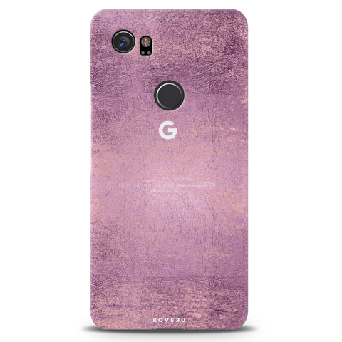 Mauve Marble Texture Cover Case For Google Pixel 2 XL