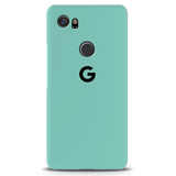 Turquoise Cover Case For Google Pixel 2 XL