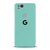 Turquoise Cover Case For Google Pixel 2