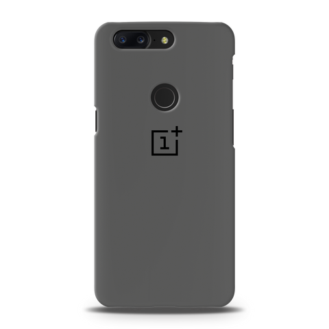Grey Cover Case For OnePlus 5T