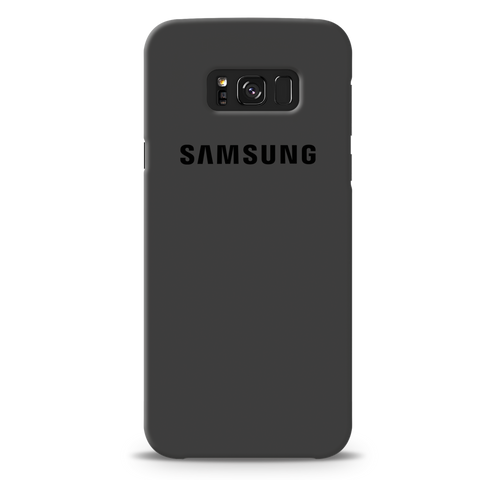 Grey Cover Case For Samsung Galaxy S8 Plus