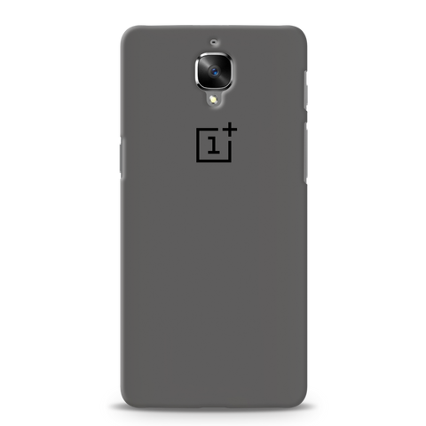 Grey Cover Case For OnePlus 3/3T