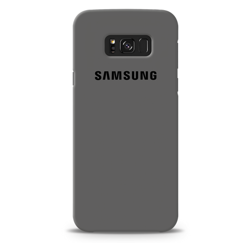 Grey Cover Case For Samsung Galaxy S8