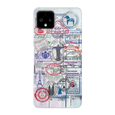 Stamp Cover Case for Google Pixel 4