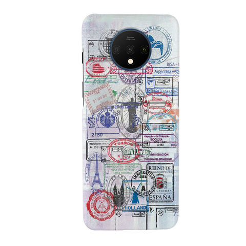 Stamp Cover Case for OnePlus 7T