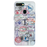 Stamp Cover Case for Oppo A7