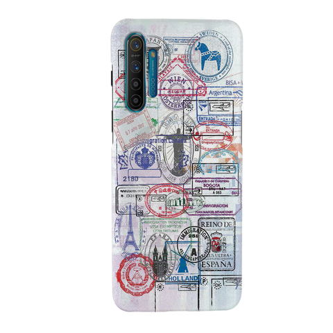Stamp Cover Case for Realme XT