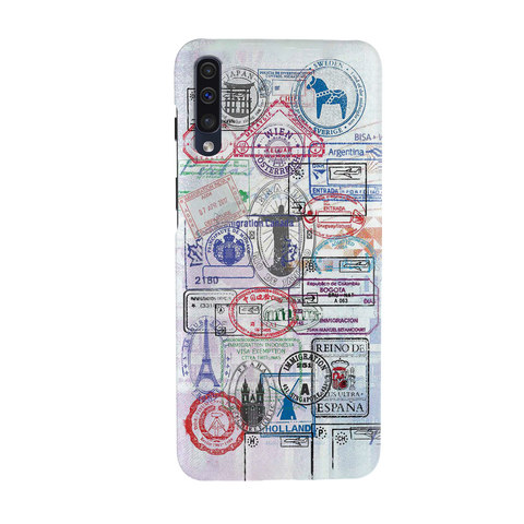 Stamp Cover Case for Samsung Galaxy A50