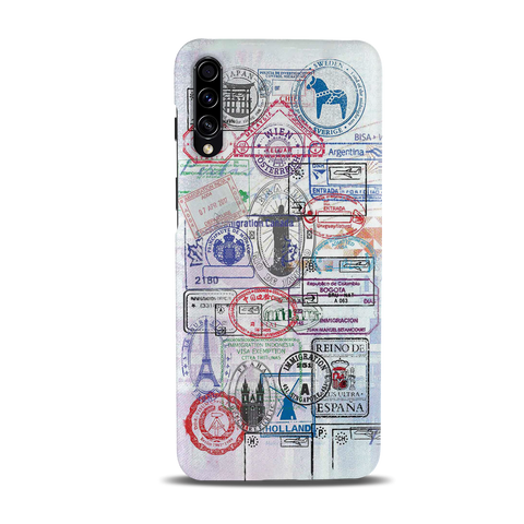 Stamp Cover Case for Samsung Galaxy A50S