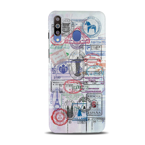 Stamp Cover Case for Samsung Galaxy M30