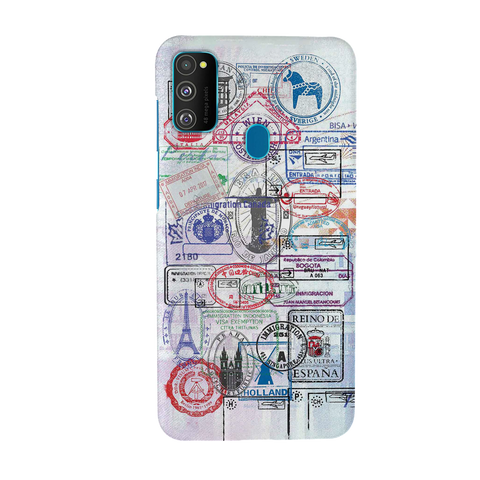 Stamp Cover Case for Samsung Galaxy M30S