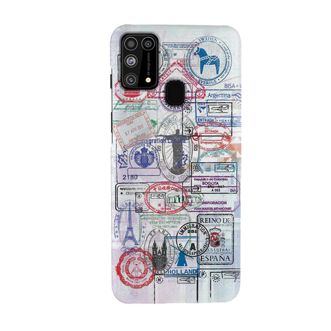 Stamp Cover Case for Samsung Galaxy M31
