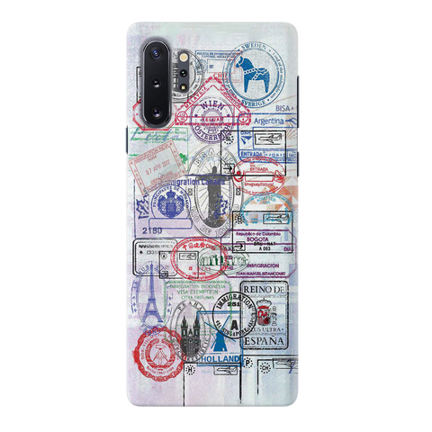 Stamp Cover Case for Samsung Galaxy Note 10 Plus