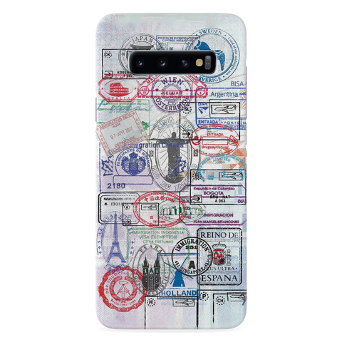 Stamp Cover Case for Samsung Galaxy S10