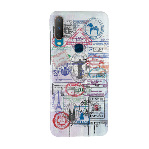 Stamp Cover Case for Vivo Y17